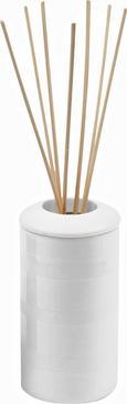 Raumdufthalter Lora, D: ca. 6cm - Weiß, Keramik (6cm) - MÖMAX modern living