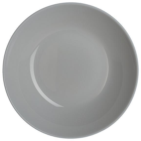 Mélytányér Alexis - Szürke, romantikus/Landhaus, Üveg (20/4,2cm) - Mömax modern living