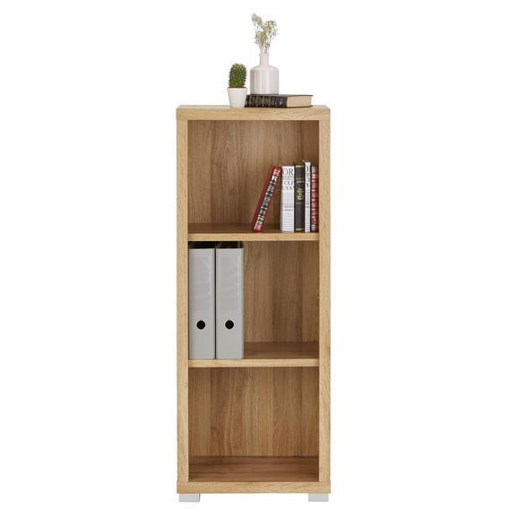 Regal Eichefarben - Eichefarben/Weiß, MODERN, Holzwerkstoff (44/112/36cm) - Mömax modern living