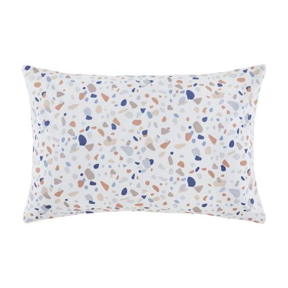 Díszpárna Terrazzo - Fehér, modern, Textil (40/60cm) - Mömax modern living