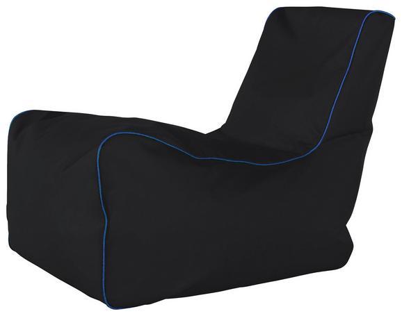 Vreča Za Sedenje Gamer - modra/črna, Moderno, tekstil (82/70/70cm) - Mömax modern living