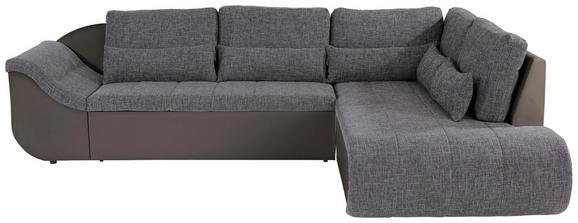 Sedežna Garnitura Carisma - odtenki umazano rjave/siva, Moderno, umetna masa/tekstil (300/210cm) - Mömax modern living