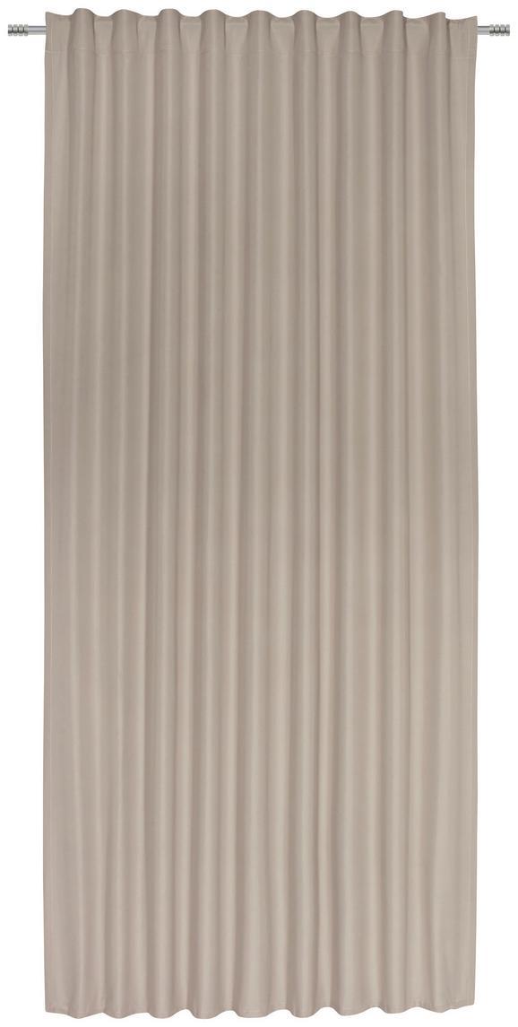 Fertigvorhang Gerd in Beige, ca. 135x245cm - Beige, Textil (135/245cm) - Mömax modern living