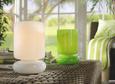 Tischleuchte Shelly, max. 40 Watt - Weiß, KONVENTIONELL, Glas (9,5/15cm) - Mömax modern living