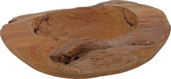 Skleda Masai - rjava, Trendi, les (25/6cm) - Mömax modern living