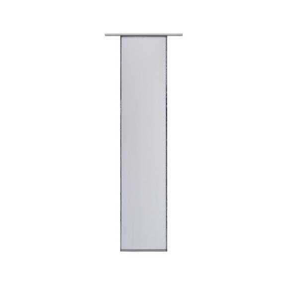 Flächenvorhang Flipp Anthrazit 60x245cm - Anthrazit, Textil (60/245cm) - Based