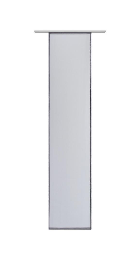 Flächenvorhang Flipp, ca. 60x245cm - Anthrazit, Textil (60/245cm) - Based