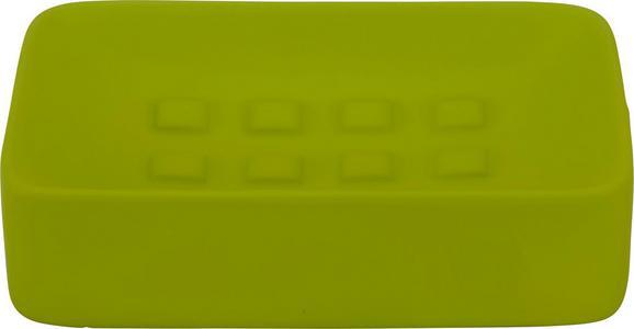 Seifenschale Melanie in Grün aus Keramik - Grün, Keramik (8,3/12,5cm) - MÖMAX modern living