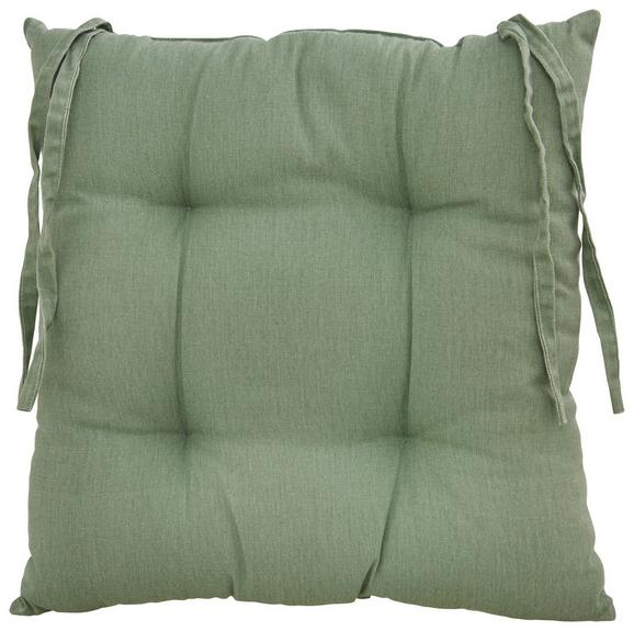 Sitzkissen Steven 40x40 cm - Grün, Textil (40/40cm) - Mömax modern living