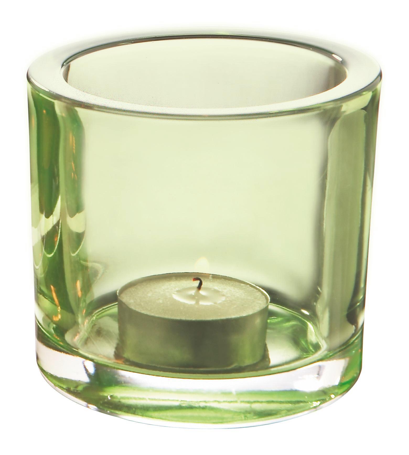 Držalo Za Čajno Svečko Silke - črna/siva, Moderno, steklo (9/8cm) - MÖMAX modern living