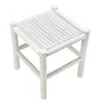 Hocker Phil - Weiß, KONVENTIONELL, Holz (40/45/40cm) - Premium Living