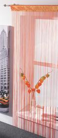 Perdea Din Franjuri Promotion -based- -top- - Mov/Albastru, KONVENTIONELL, Material textil (90/200cm) - Based