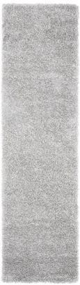 Hochflorteppich Lambada Silber 80x300cm - Silberfarben (80/300cm) - Mömax modern living