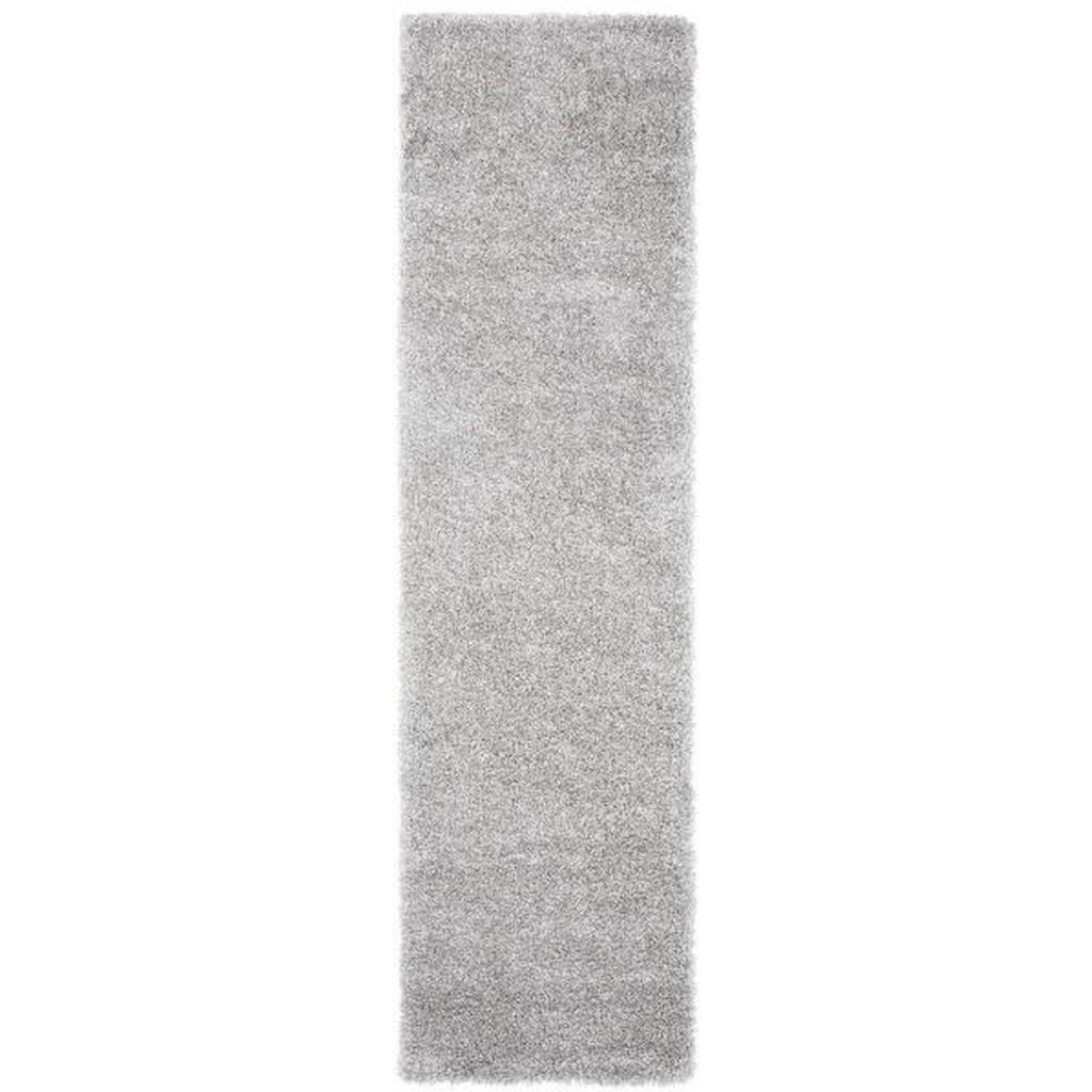 Hochflorteppich Lambada Silber ca.80x300cm