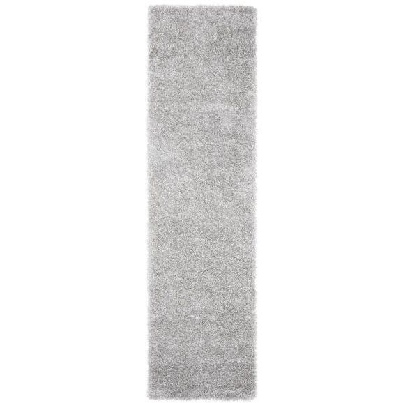 Hochflorteppich Lambada Silber ca.80x300cm - Silberfarben (80/300cm) - Mömax modern living