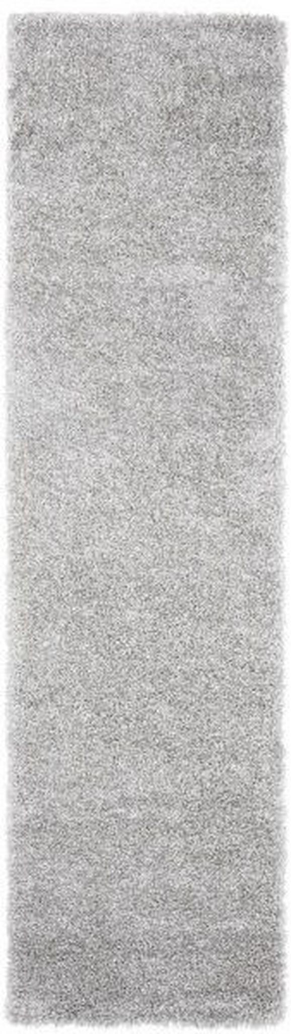 Hochflorteppich Lambada - Silberfarben (80/300cm) - Mömax modern living