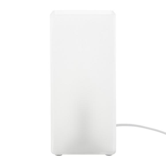 Veioză Beni - alb, Modern, sticlă (10/22/10cm) - Based