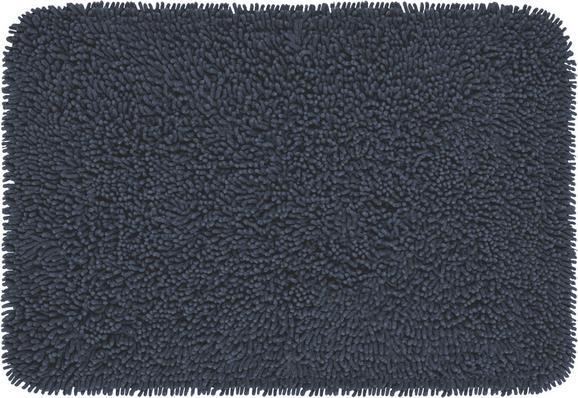 Badteppich Jenny Anthrazit 60x90cm - Anthrazit, Textil (60/90cm) - Based