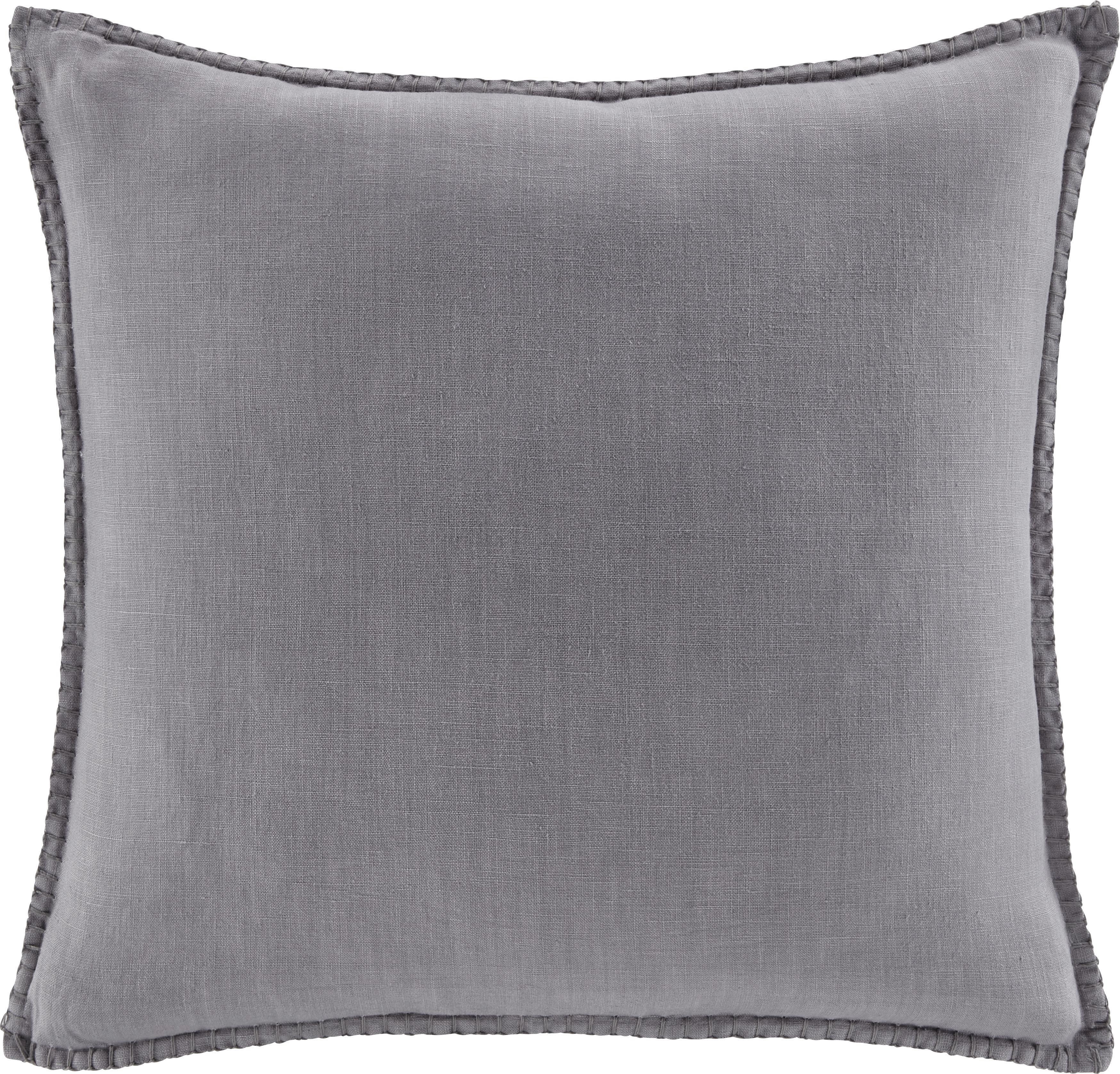 Zierkissen Lorena 45x45cm - Hellgrau, MODERN, Textil (45/45cm) - MÖMAX modern living