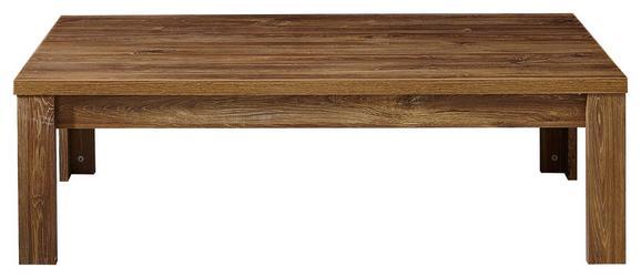 Couchtisch Akazienfarben - Akaziefarben, MODERN, Holzwerkstoff (130/40/65cm) - PREMIUM LIVING