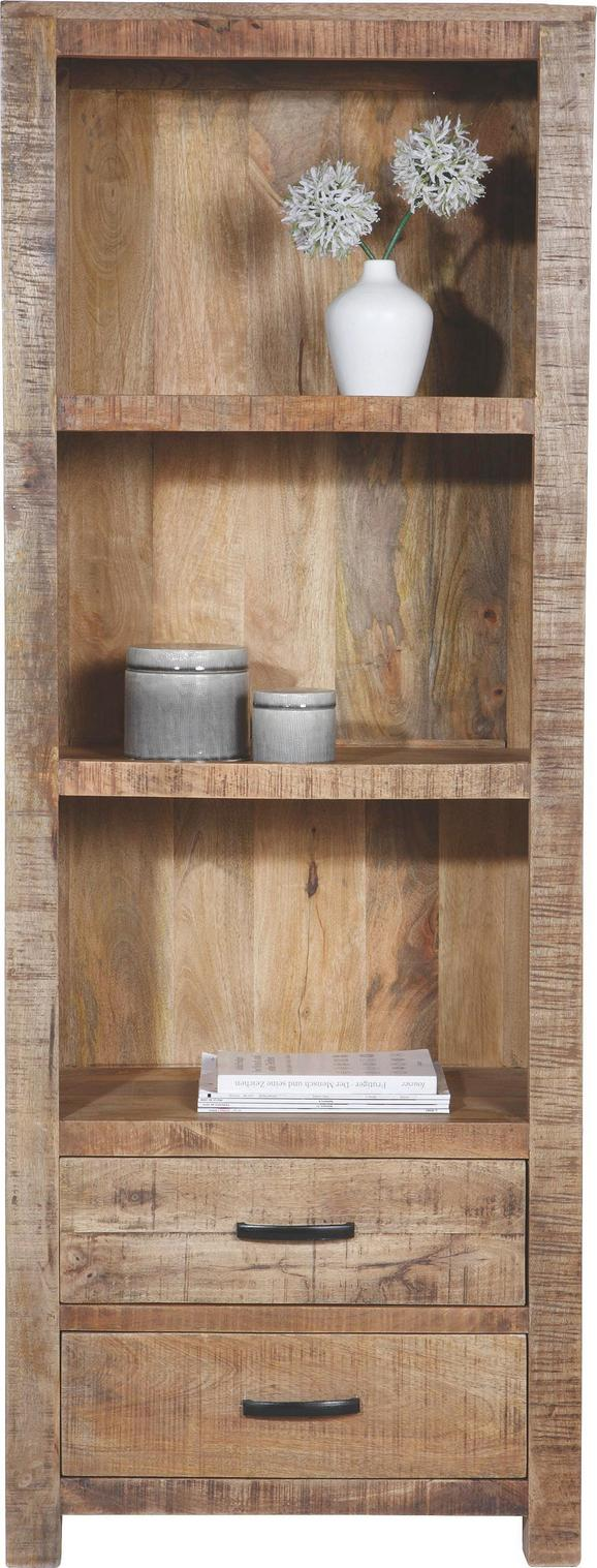 Regal Naturfarben - Naturfarben, LIFESTYLE, Holz (67/180/42cm) - Zandiara
