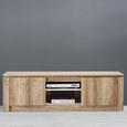 TV-möbel Arielle - Eichefarben, MODERN, Holz (160/49/39,5cm) - Mömax modern living