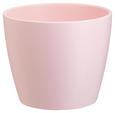 Blumentopf Luisa verschiedene Farben - Rosa/Weiß, MODERN, Keramik (12cm) - Based