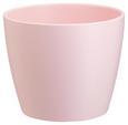 Blumentopf Luisa Verschiedenen Farben - Rosa/Weiß, MODERN, Keramik (25,7/21cm) - Mömax modern living