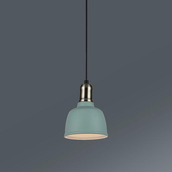 Hängeleuchte Marlo, max. 1x60 Watt - Mintgrün, MODERN, Metall (22/180cm) - Mömax modern living