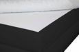 Postelja Boxspring Ascari - aluminij/črna, Moderno, umetna masa/tekstil (160/200cm) - Mömax modern living