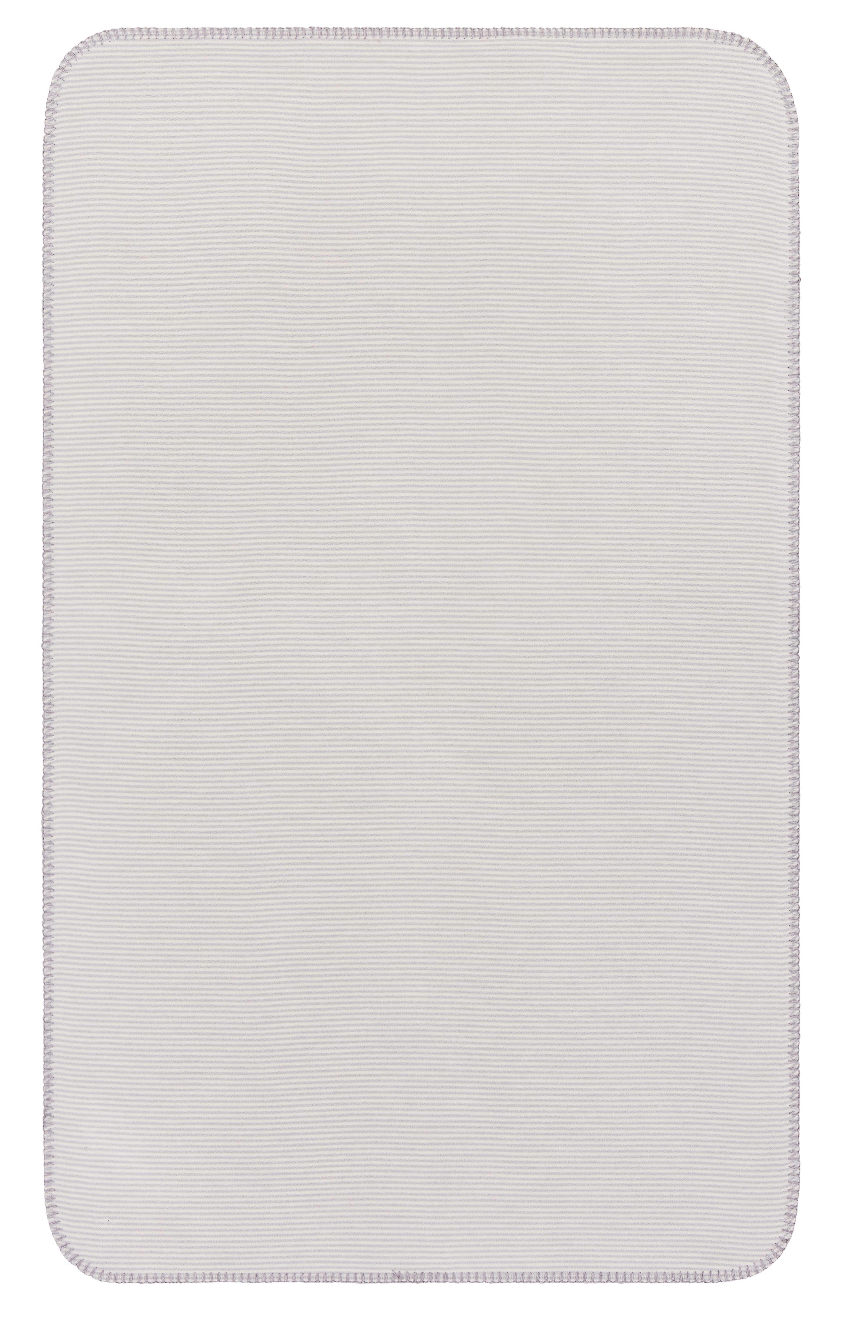 Babydecke Ibena in Natur - Hellgrau, MODERN, Textil (70x100cm) - IBENA