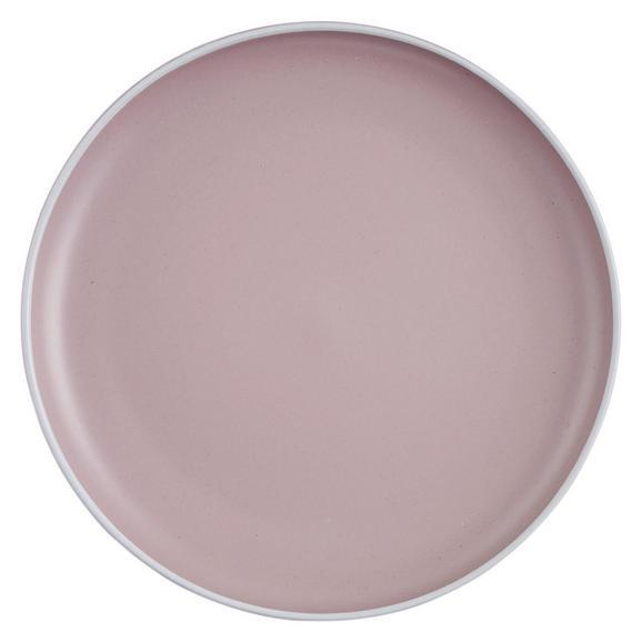 Speiseteller Ragnar aus Keramik Ø ca. 27cm - Rosa, MODERN, Keramik (27cm) - Modern Living