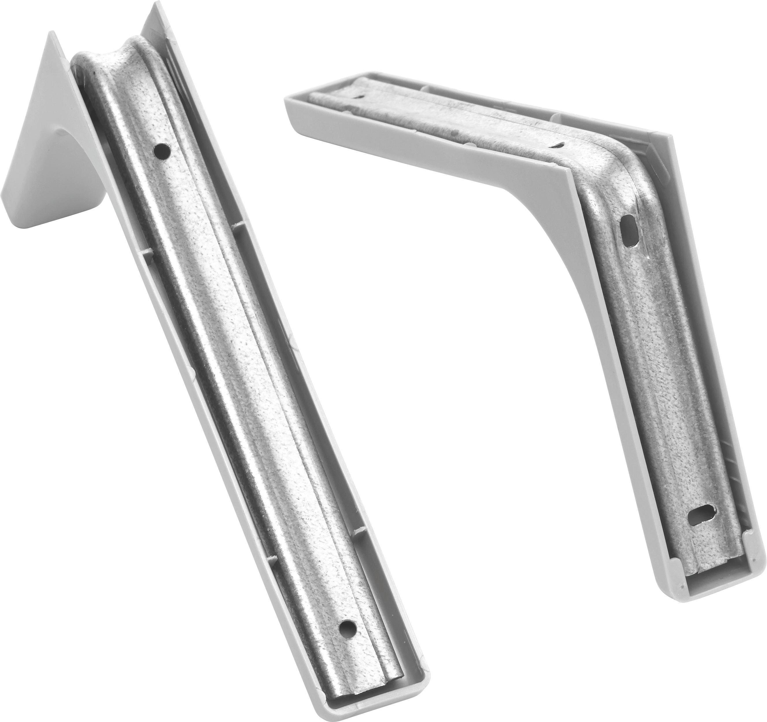 Wandhalter Silberfarben aus Metall - Silberfarben, Metall (24cm) - MÖMAX modern living