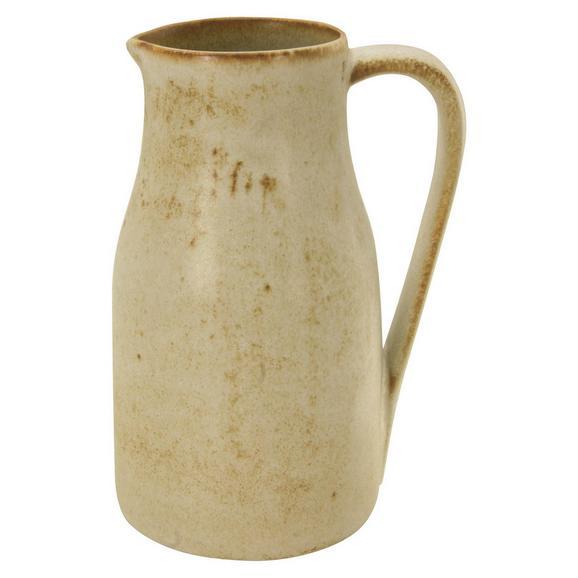 Krug Sahara aus Keramik ca. 0,4l - Weiß, LIFESTYLE, Keramik (11,5/9/13,5cm) - Zandiara