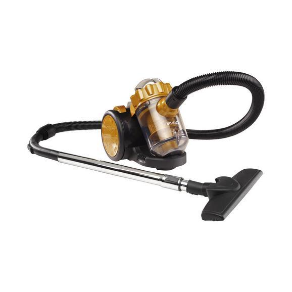 Bodenstaubsauger Arwen max. 700 Watt - Goldfarben/Schwarz, Kunststoff/Metall (33/23/26cm) - Insido