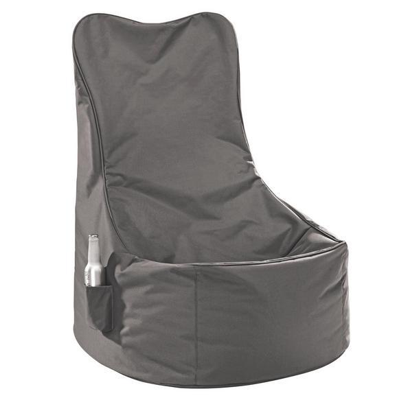 Sitzsack in Schlamm aus Nylon - Textil (60/100/60cm) - MODERN LIVING