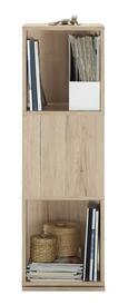 Regal Netto - hrast, Moderno, leseni material (34/108/34cm)