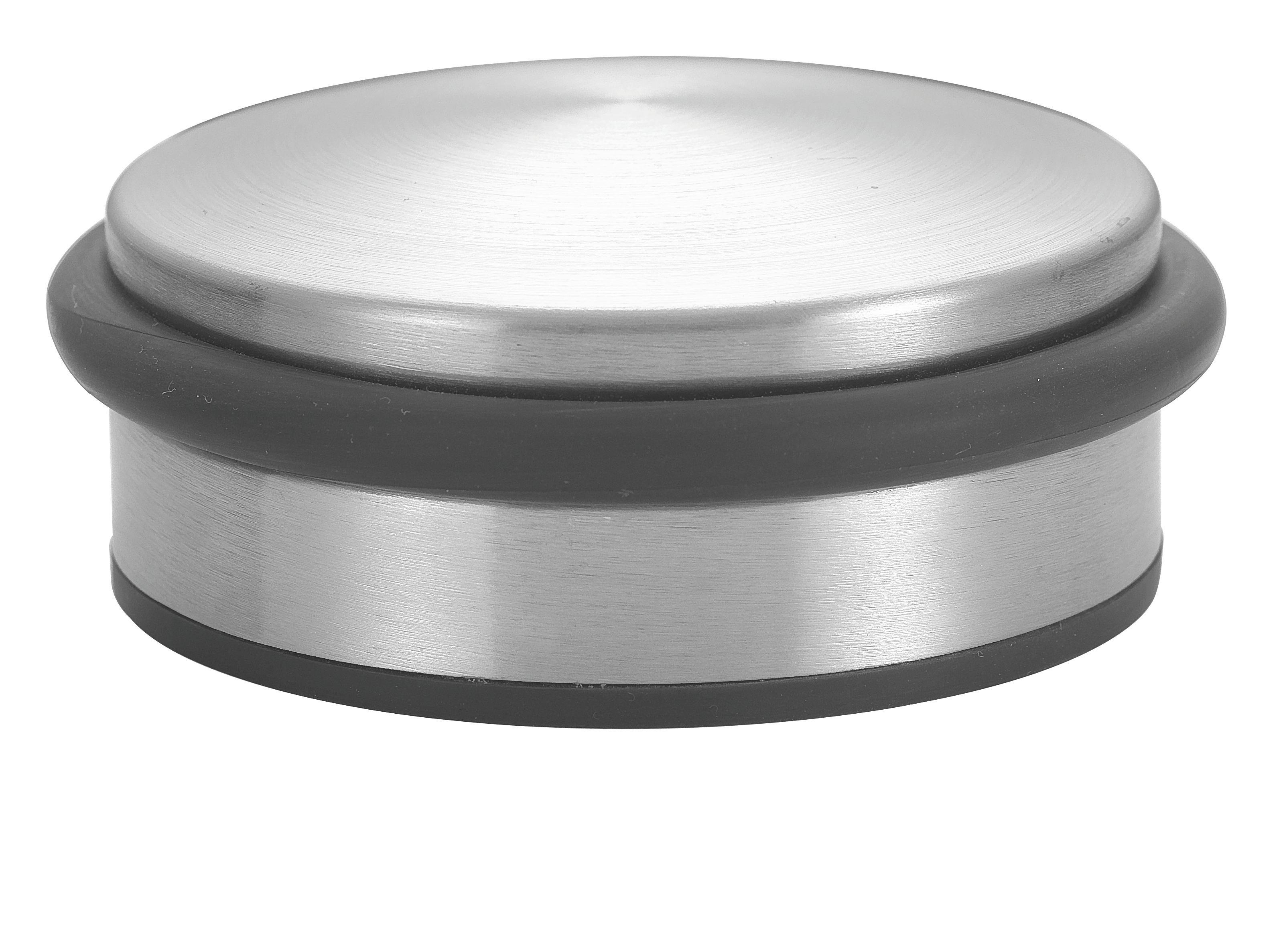 Ajtókitámasztó Bruce - ezüst színű, fém (10/4,2cm) - MÖMAX modern living