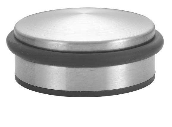 Türstopper Silberfarben - Silberfarben, Metall (10/4,2cm) - Mömax modern living