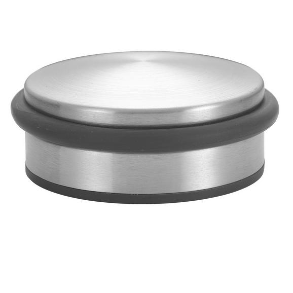 Türstopper Silberfarben - Silberfarben, Metall (10/4,5cm) - Mömax modern living