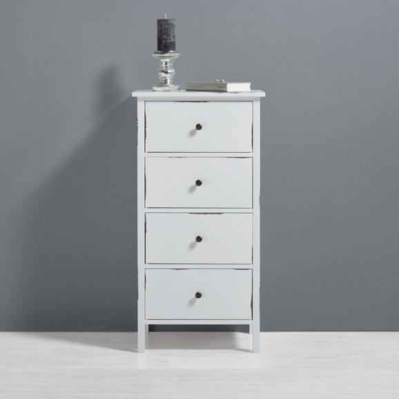 Kommode Marley - Weiß, MODERN, Holz (48/95/37cm) - Mömax modern living